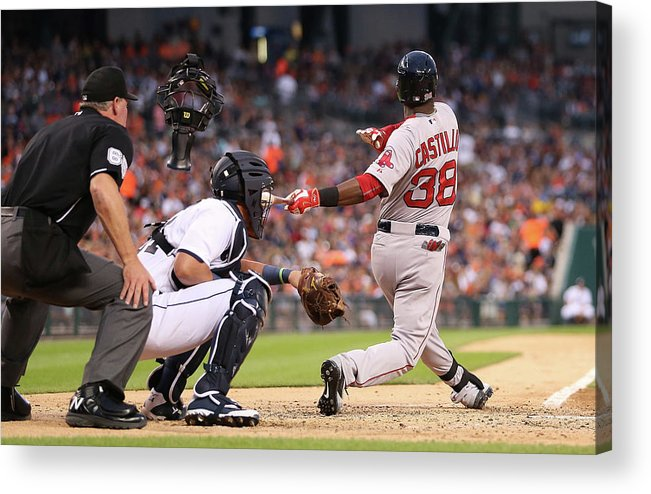People Acrylic Print featuring the photograph Rusney Castillo by Leon Halip