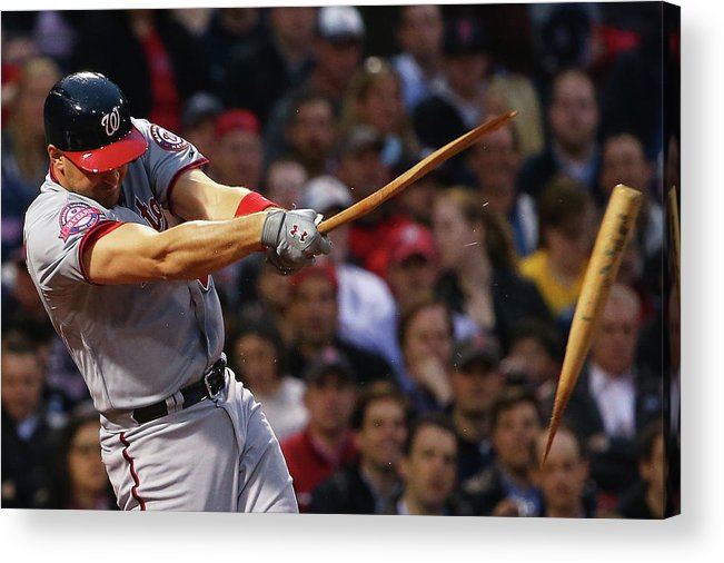 Three Quarter Length Acrylic Print featuring the photograph Ryan Zimmerman by Maddie Meyer
