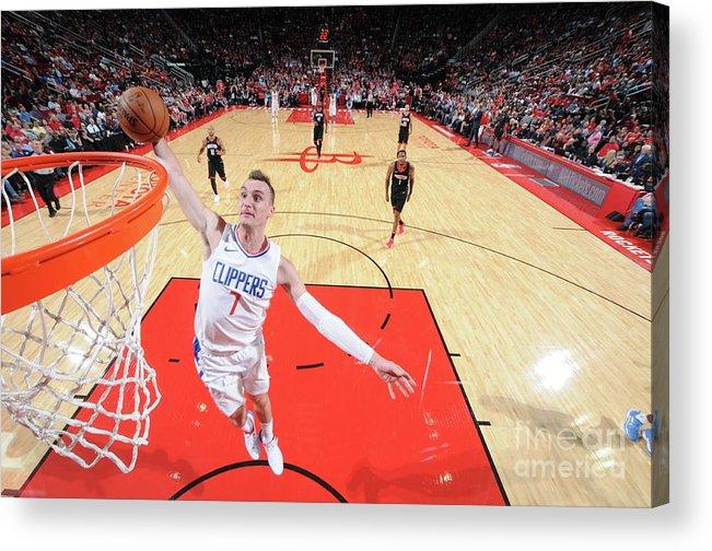 Nba Pro Basketball Acrylic Print featuring the photograph Sam Dekker by Bill Baptist