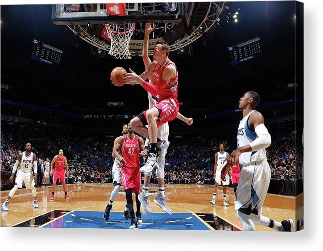 Nba Pro Basketball Acrylic Print featuring the photograph Sam Dekker by David Sherman