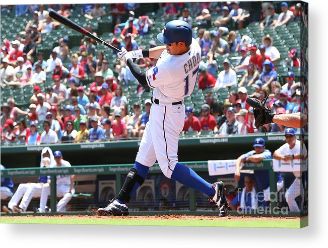 People Acrylic Print featuring the photograph Shin-soo Choo by Rick Yeatts