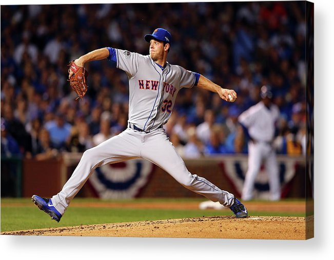 People Acrylic Print featuring the photograph Steven Matz by Elsa