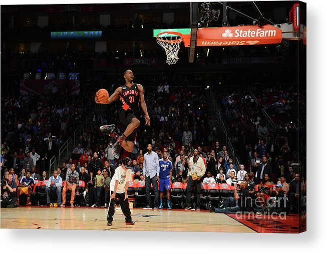 Nba Pro Basketball Acrylic Print featuring the photograph Terrence Ross by Garrett Ellwood