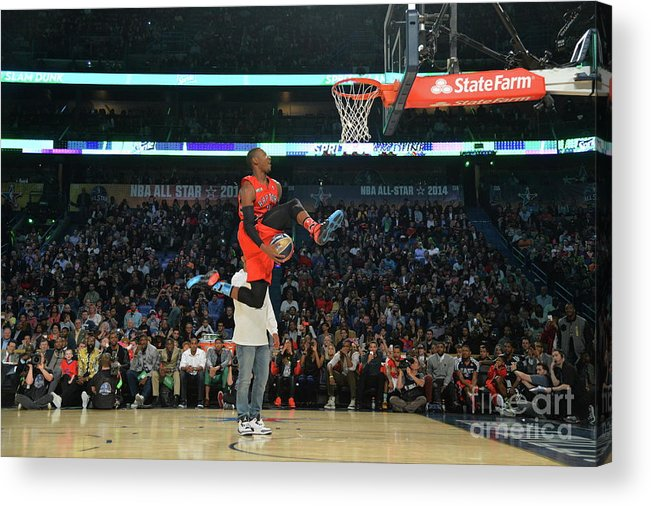 Smoothie King Center Acrylic Print featuring the photograph Terrence Ross by Jesse D. Garrabrant