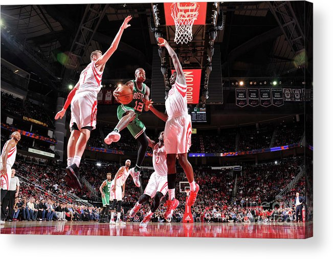 Nba Pro Basketball Acrylic Print featuring the photograph Terry Rozier by Bill Baptist