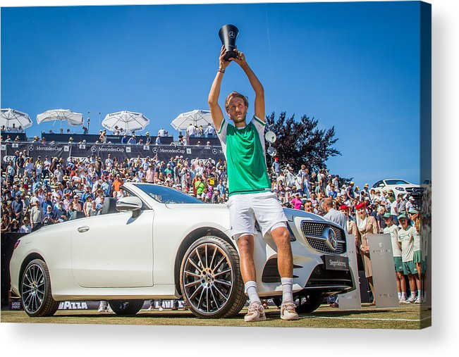 Mercedes Cup Acrylic Print featuring the photograph The MercedesCup by Thomas Niedermueller