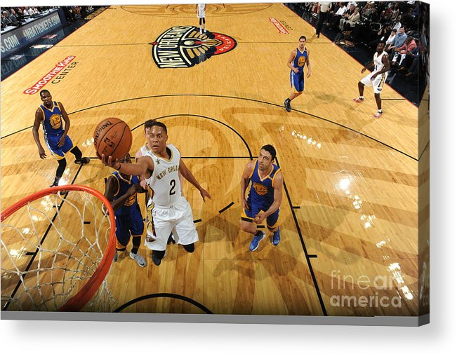 Smoothie King Center Acrylic Print featuring the photograph Tim Frazier by Andrew D. Bernstein