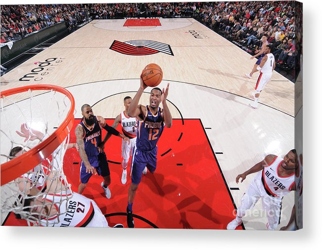 Nba Pro Basketball Acrylic Print featuring the photograph T.j. Warren by Sam Forencich