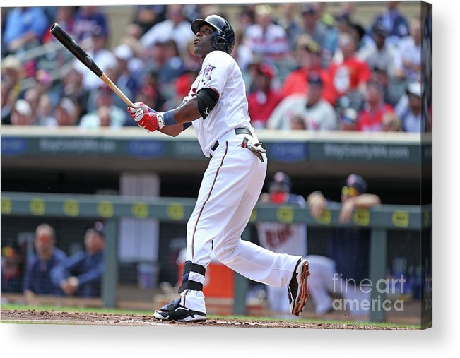 Second Inning Acrylic Print featuring the photograph Torii Hunter by David Sherman