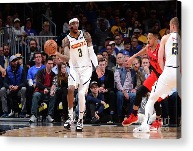 Playoffs Acrylic Print featuring the photograph Torrey Craig by Bart Young