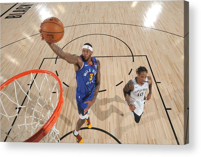 Nba Pro Basketball Acrylic Print featuring the photograph Torrey Craig by Garrett Ellwood