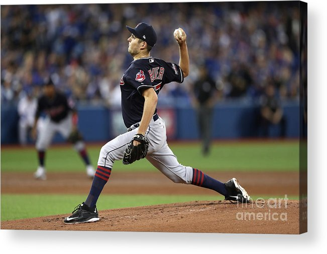 People Acrylic Print featuring the photograph Trevor Bauer by Elsa