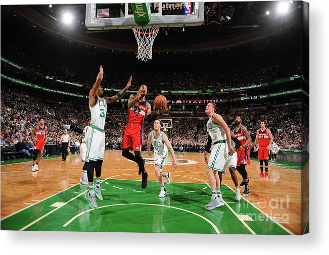 Nba Pro Basketball Acrylic Print featuring the photograph Trey Burke by Brian Babineau