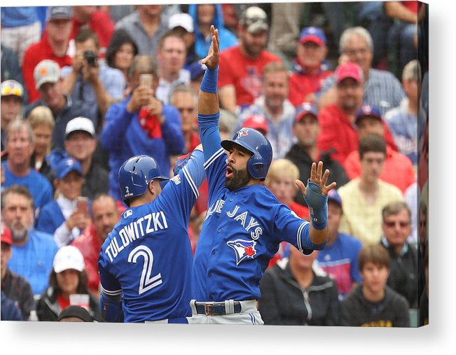 Game Two Acrylic Print featuring the photograph Troy Tulowitzki by Scott Halleran