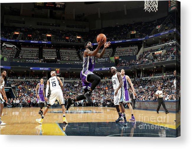 Nba Pro Basketball Acrylic Print featuring the photograph Ty Lawson by Joe Murphy