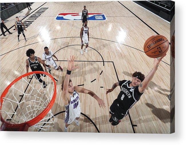 Nba Pro Basketball Acrylic Print featuring the photograph Tyler Johnson by David Sherman