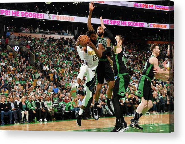 Playoffs Acrylic Print featuring the photograph Tyreke Evans by Jesse D. Garrabrant