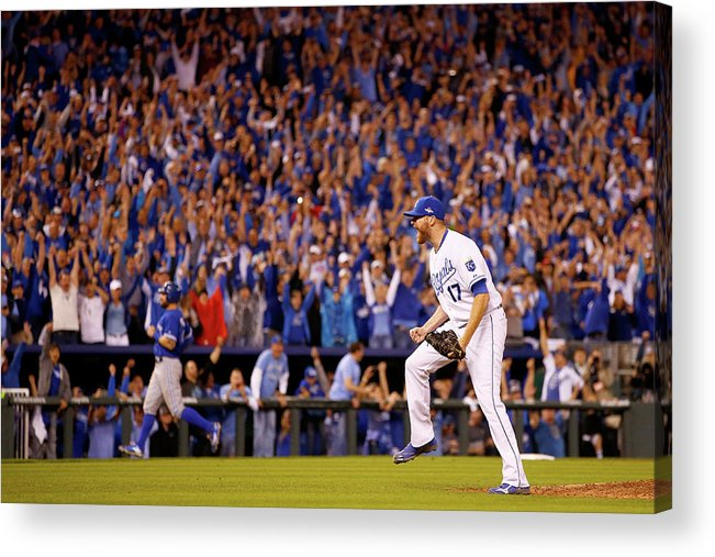 People Acrylic Print featuring the photograph Wade Davis by Jamie Squire
