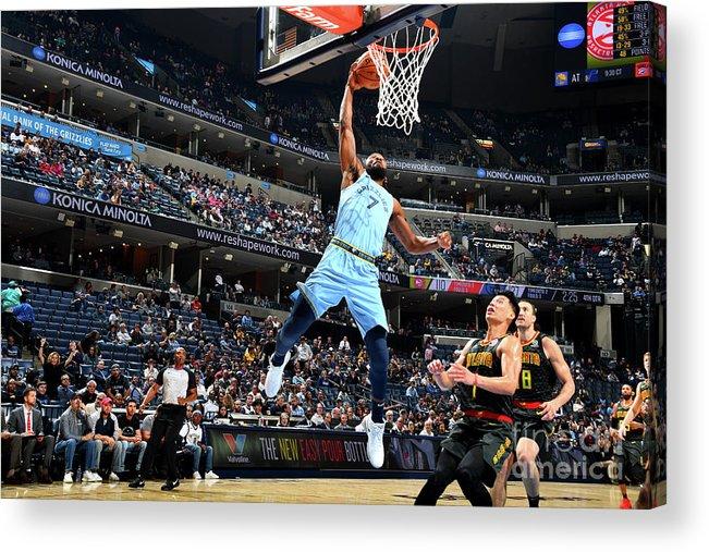 Nba Pro Basketball Acrylic Print featuring the photograph Wayne Selden by Scott Cunningham