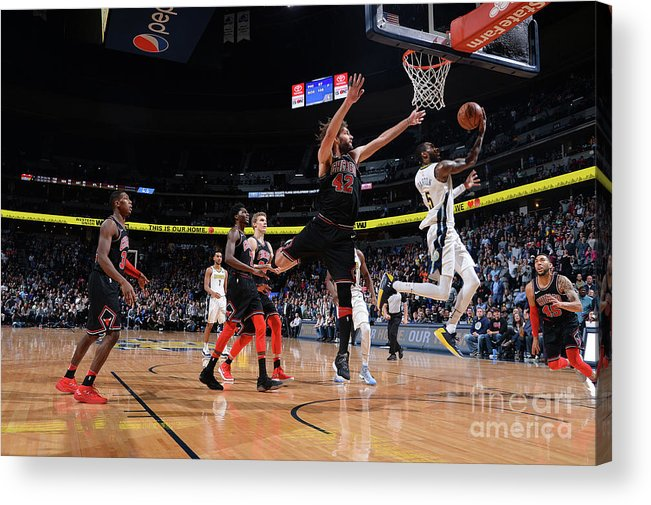 Nba Pro Basketball Acrylic Print featuring the photograph Will Barton by Bart Young
