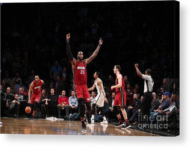Nba Pro Basketball Acrylic Print featuring the photograph Willie Reed by Nathaniel S. Butler