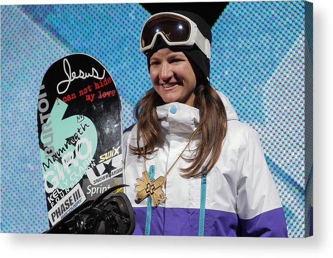 Aspen Acrylic Print featuring the photograph Winter X Games 2012 by Doug Pensinger