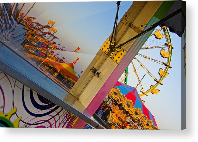Carnival Acrylic Print featuring the photograph Carnival 1 by Skip Hunt