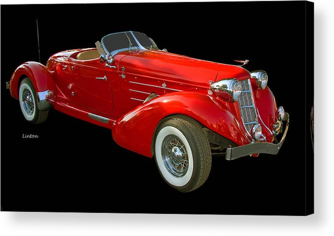 Auburn Speedster Acrylic Print featuring the photograph Speedster 2 by Larry Linton