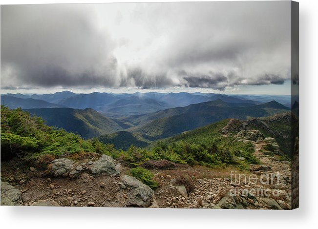 Franconia Ridge Acrylic Print featuring the photograph The Pemi Wilderness by Diana Nault
