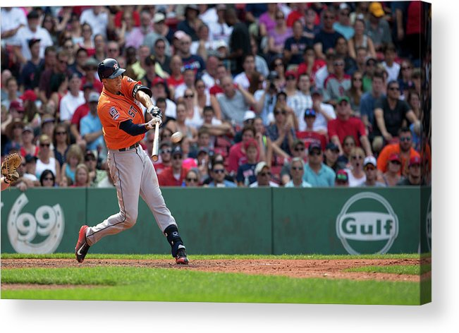 People Acrylic Print featuring the photograph Carlos Correa by Rich Gagnon