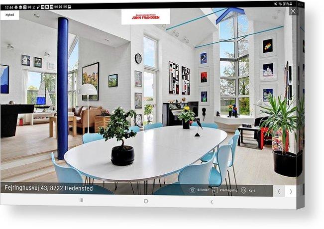 See Www.johnfrandsen.dk - Contact Dbh@johnfrandsen.dk Acrylic Print featuring the mixed media See www.johnfrandsen.dk - contact dbh@johnfrandsen.dk by Asbjorn Lonvig