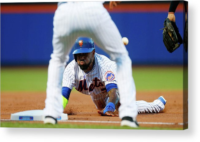 American League Baseball Acrylic Print featuring the photograph Jose Reyes by Jim Mcisaac