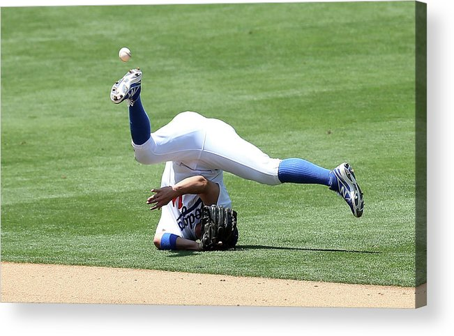 People Acrylic Print featuring the photograph Wilmer Flores by Stephen Dunn
