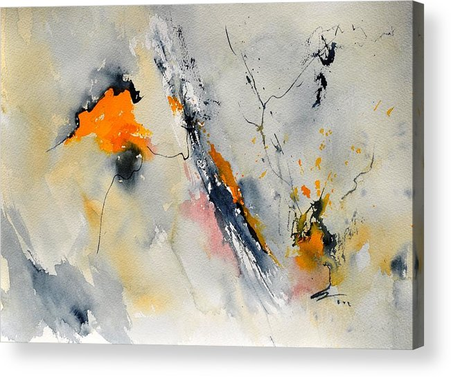 Abstract Acrylic Print featuring the painting Abstract 416032 by Pol Ledent