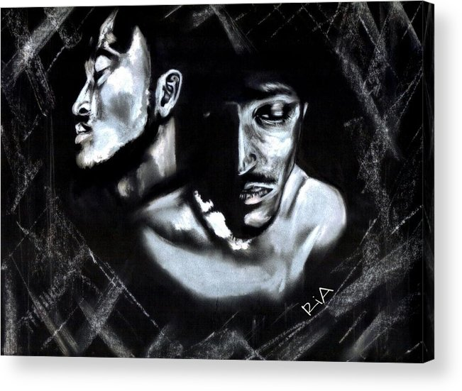 Man Acrylic Print featuring the photograph Clear Conscience by Artist RiA
