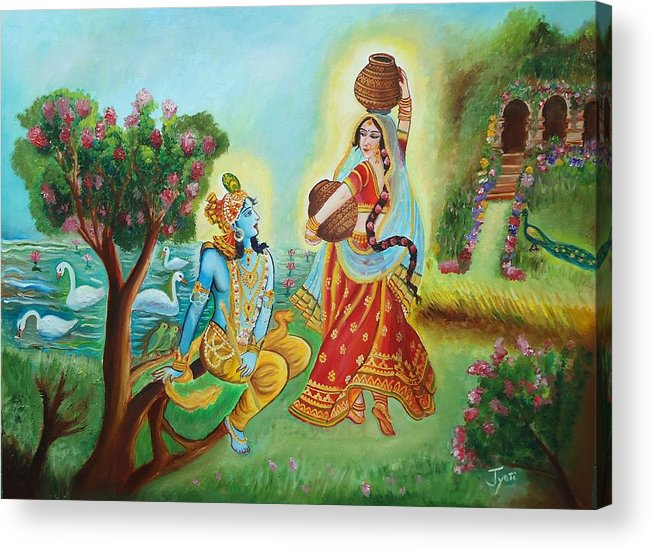 divine love of radha and lord krishna luring the beauty jyoti sharma