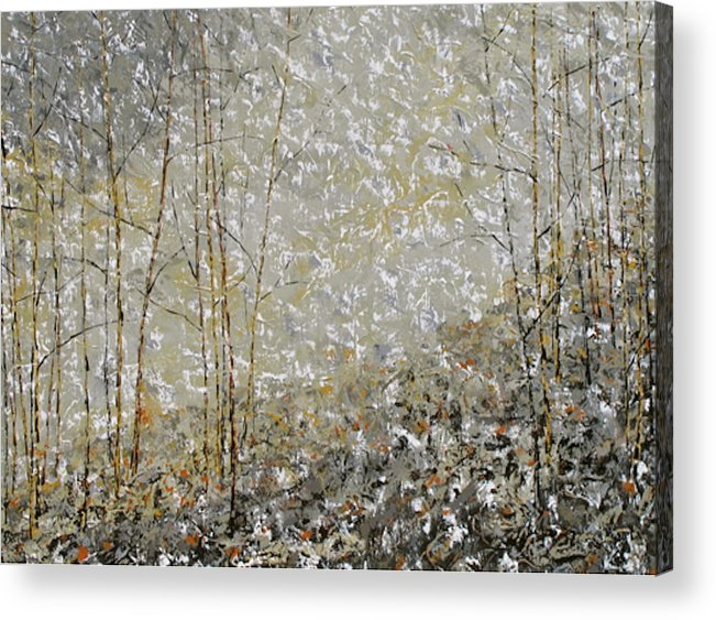 Landscape Acrylic Print featuring the painting Fifty Shades by Barrett Edwards