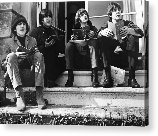 1965 Acrylic Print featuring the photograph The Beatles, 1965 by Granger
