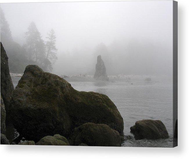 Ocean Acrylic Print featuring the photograph Coastal Fog by Ty Nichols
