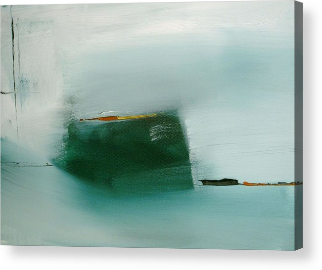 Abstract Acrylic Print featuring the painting Come Talk To Me by Stefan Fiedorowicz