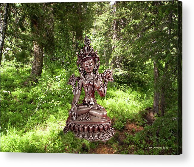 Dhyana Acrylic Print featuring the photograph Dhyana by J P Lambert