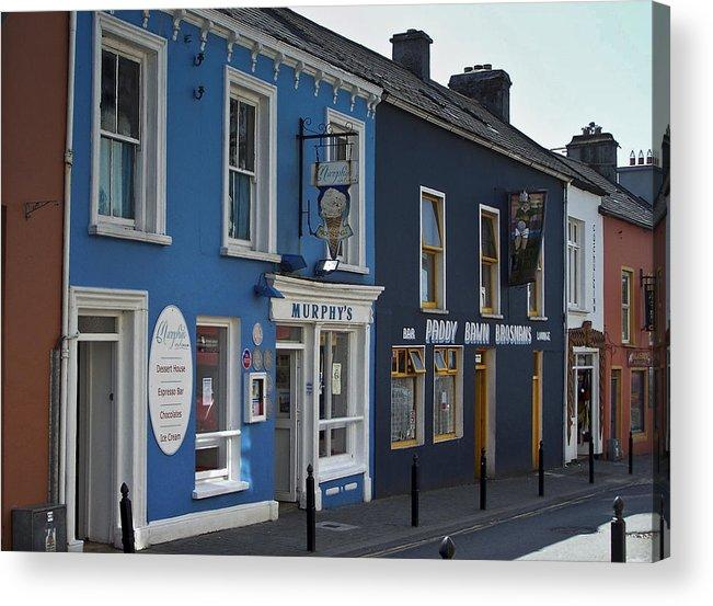 Irish Acrylic Print featuring the photograph Murphys Ice Cream Dingle Ireland by Teresa Mucha