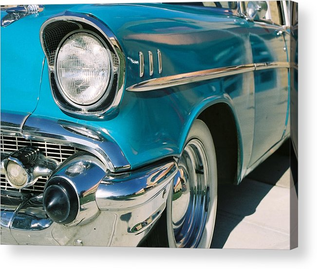 Chevy Acrylic Print featuring the photograph Old Chevy by Steve Karol