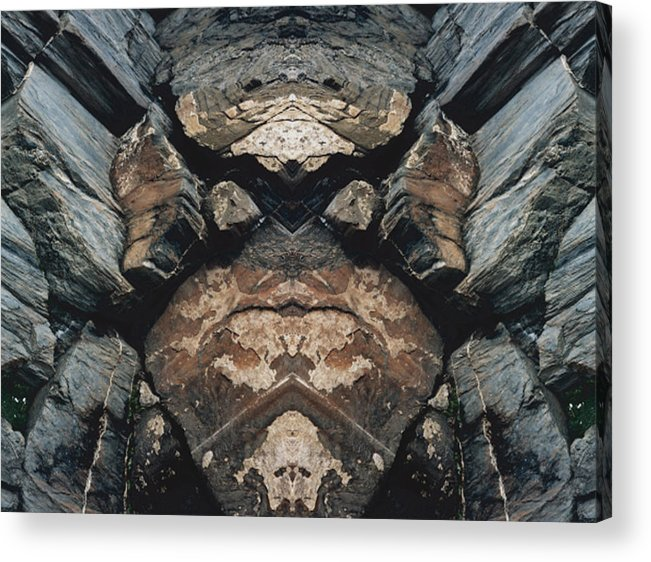 Rocks Acrylic Print featuring the photograph Rock Gods Rock Matron by Nancy Griswold