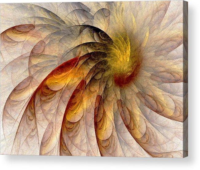 Sun Acrylic Print featuring the digital art The Sun Do Move - Remembering Langston Hughes by Nirvana Blues