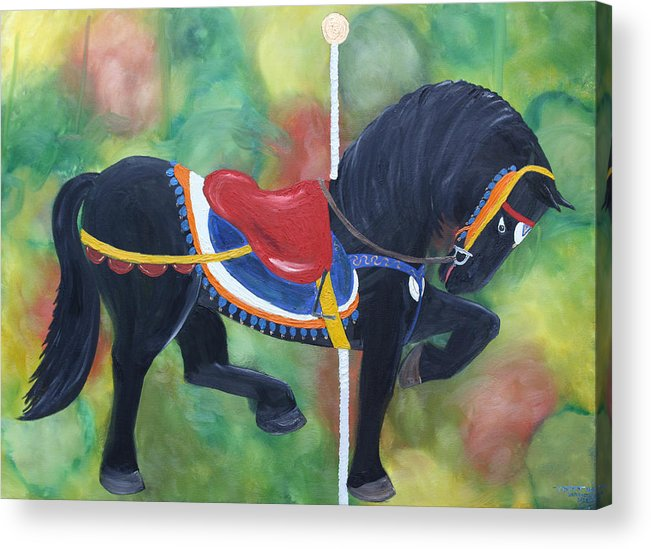 Unforgettable Acrylic Print featuring the painting Unforgettable Spirit by Tammy Dunn