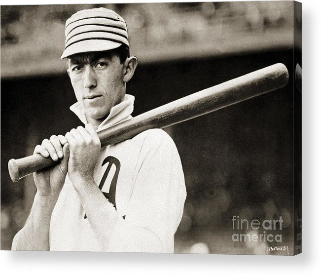 Sports Bat Acrylic Print featuring the photograph National Baseball Hall Of Fame Library by National Baseball Hall Of Fame Library