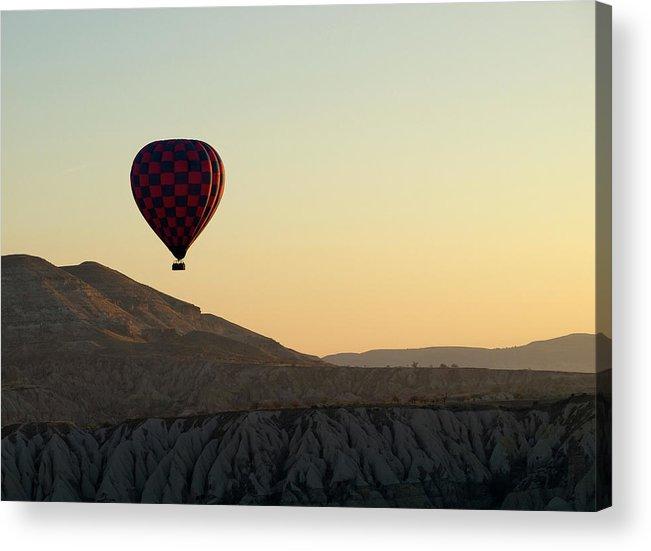 Scenics Acrylic Print featuring the photograph Cappadocia Valley by Julian Kaesler