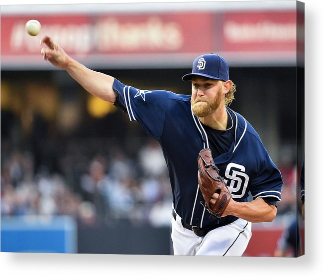 California Acrylic Print featuring the photograph Andrew Cashner by Denis Poroy