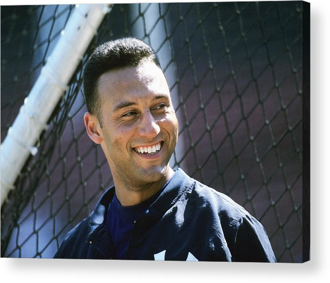 People Acrylic Print featuring the photograph Derek Parks by Ronald C. Modra/sports Imagery